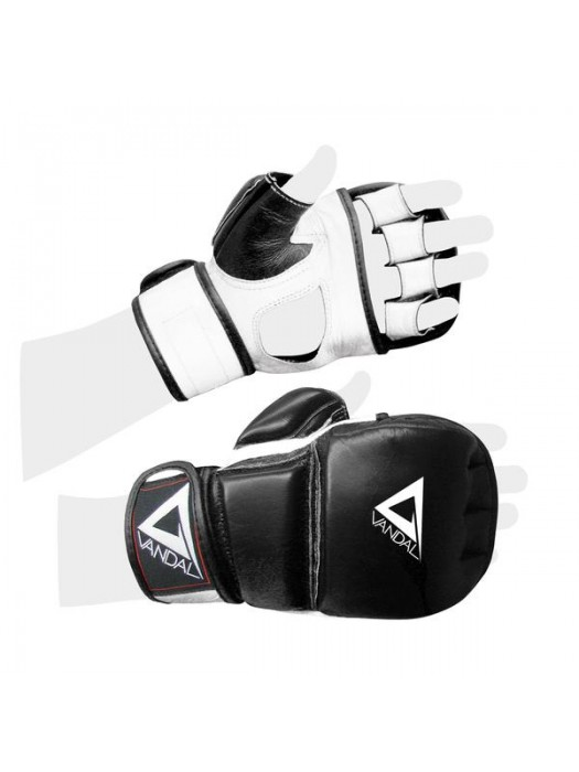 GUANTI VANDAL NEW SPARRING PRO MMA IN PELLE