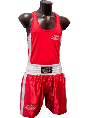 COMPLETO BOXING ROSSO