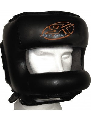 "CASCO SK ""BLACK NOSE"" IN PELLE"
