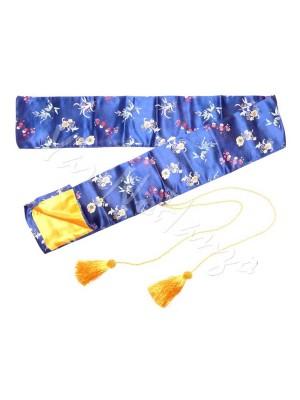Sacca in seta Blu